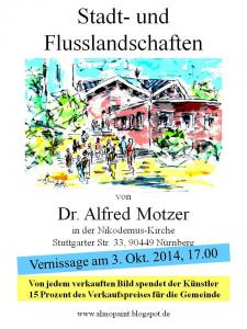 Vernissage and exhibition in  Nikodemus Church in Nuremberg